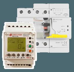 Protección diferencial y magneto térmica